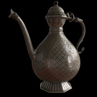 3ds max antique teapot