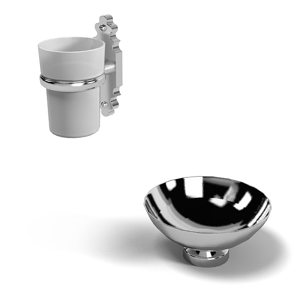 thg soap antuque dish tumbler holder classic chrome.jpg