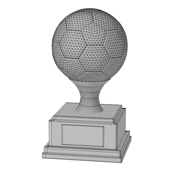 3d 3ds trophy - trophy14... by bescec
