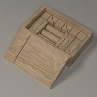 3d model of brick box