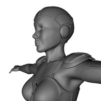 maya sci-fi fantasy armor