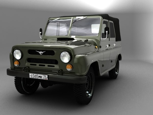 uaz jeep 3d model - uaz jeep... by tomysss