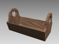 3d model decorative wood