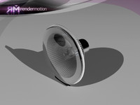d3 c2 10 lamp: 3d model