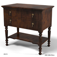 HICKORY WHITE 235-72 classic  traditional bedside bed side table chest of drawers