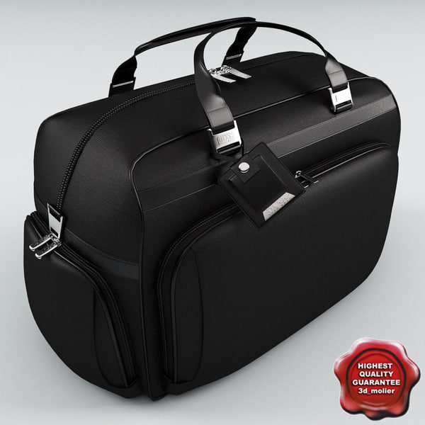 3d model travel bag - Travel Bag... by 3d_molier