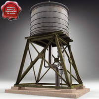 water tower 3d 3ds