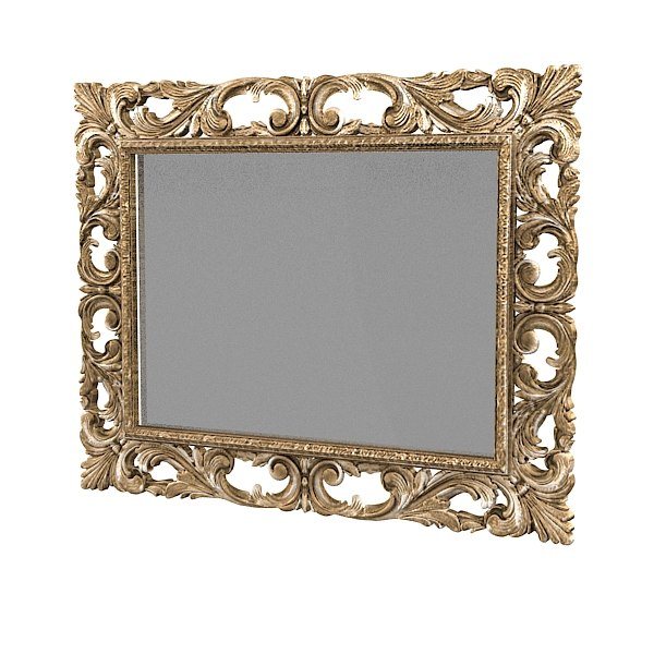 classic wall mirror picture frame carved carving antique baroque luxury .jpg