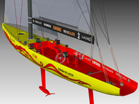 3dsmax competition sailing yacht china