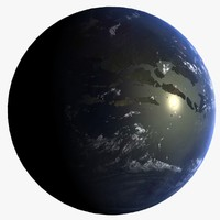 extinction event earth 3d model