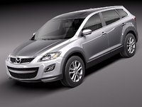 3ds max mazda cx-9 suv 2011