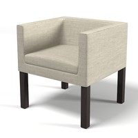 3d model of modern club chair