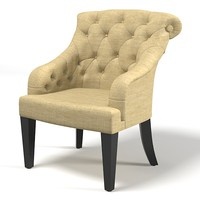 3d modern contemporary tufted