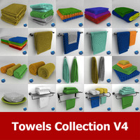 towels 04 3d 3ds