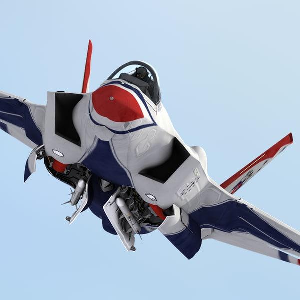 F 35 Lightning Ii Thunderbirds Air Force Thunderbirds F-35