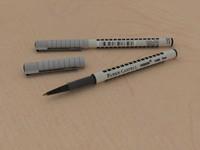 3d kalem pen pencil model