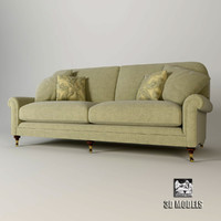 3d artistic henley sofa model