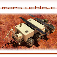 3d model exploration vehicle