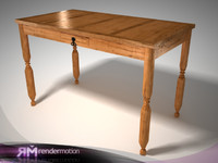 D4.C2.03 Cancun Rustic Table/Comedor Cancun