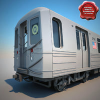 New York Subway Train R68