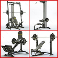3d equipment bodybuilding powertec power