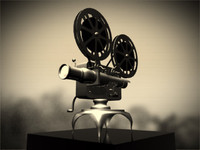 Classic Reel To Reel Projector