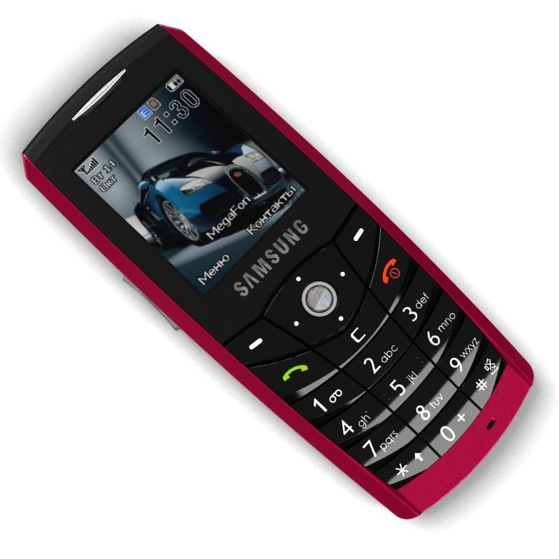 3d model mobile phone samsung sgh e200. Black Bedroom Furniture Sets. Home Design Ideas