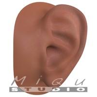 3d model realistic human ear