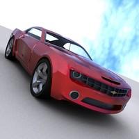 exterior 2009 chevy camaro max