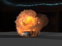 3ds max carbomb explosion fx fume