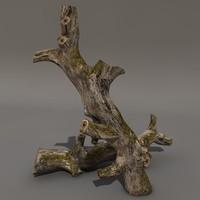 3d big log model