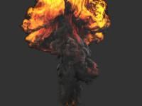 3ds max fumefx 20kt bomb 2