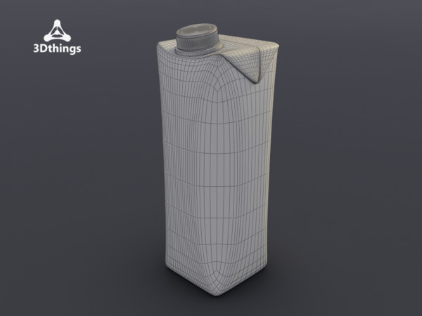 3d tetra pack model - tetra pack... by 3dthings