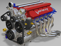 Engine v10 fuel inj w