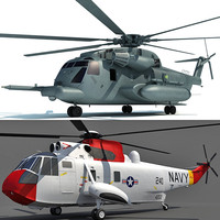 3d sikorsky sh-3 sea model