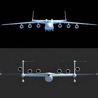 3ds max beriev be-2500 antonov an-225