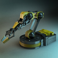 Mechanical Robot Arm
