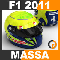 3d max formula 1 2011 felipe