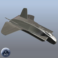 Space Fighter (Basemesh)