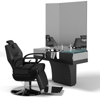 Duke Barber`s unit 05250 and president swivel chair