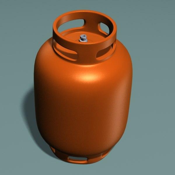 gas tank 3d model. Black Bedroom Furniture Sets. Home Design Ideas