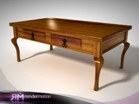 D4.C5.20 Veracruz Coffee Table/Mesa de centro Veracrúz