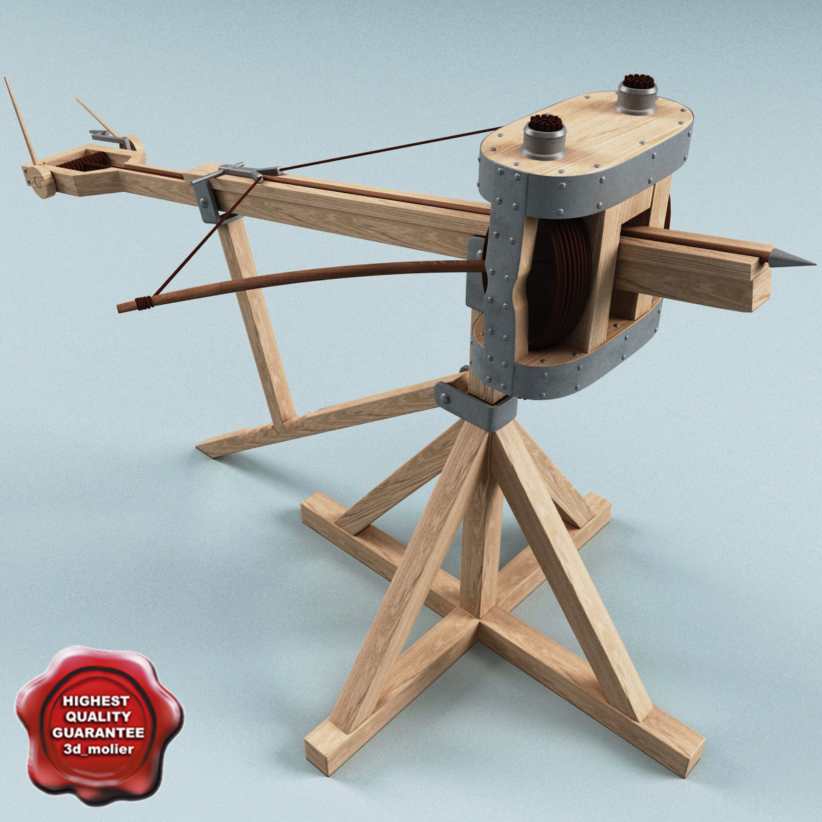 how to build a ballista catapult