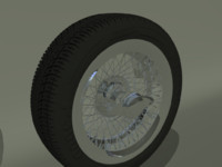 60 spoke wire wheel