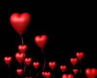 3d ma heart balloons