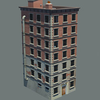 New York Building (Low Poly)