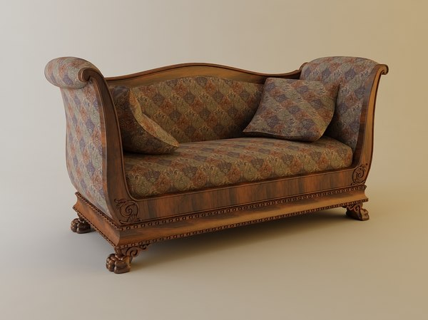 couch sofa 3d max - Sofa... by 3dfurniture