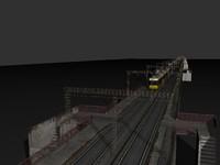 3d metro bridge