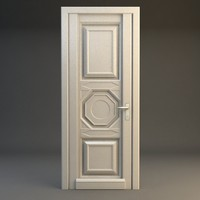 door wood wooden 3d 3ds