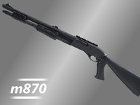 Remington m870 Tactical Shotgun